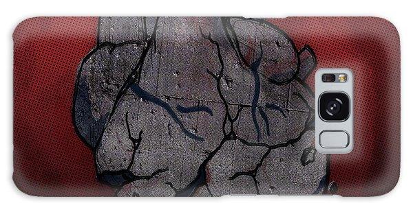 Heartache Galaxy Case - Conceptual Illustration Of Broken Human Heart by Fanatic Studio / Science Photo Library