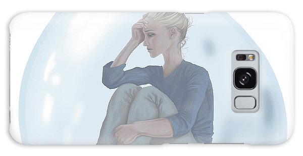 Anguish Galaxy Case - Conceptual Illustration Of Loneliness by Fanatic Studio / Science Photo Library