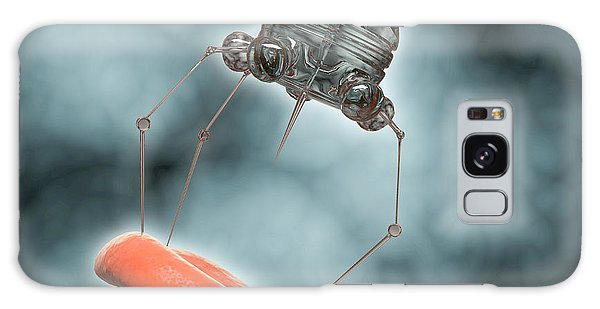 Biomedical Engineering Galaxy Case - Conceptual Image Of A Nanobot Injecting by Stocktrek Images