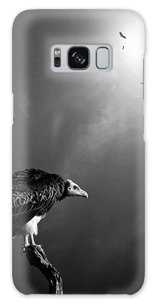 Bright Sun Galaxy Case - Conceptual - Vultures Awaiting by Johan Swanepoel