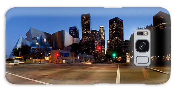 Walt Disney Concert Hall Galaxy Case - Concert Hall Lit Up At Night, Walt by Panoramic Images