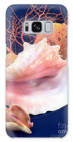 Conch Still Life Galaxy Case