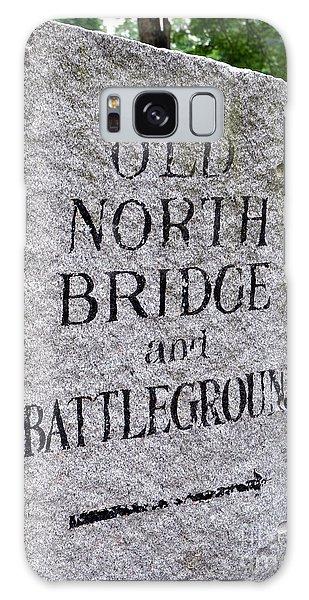 Concord Ma Old North Bridge Marker Galaxy Case