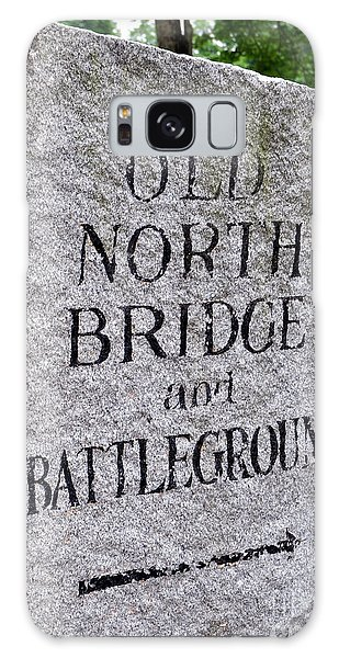 Concord Ma Old North Bridge Marker Galaxy Case