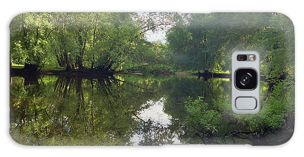 Concord River Galaxy Case by Nancy Landry