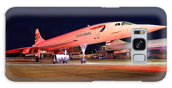 Concorde On Stand Galaxy Case