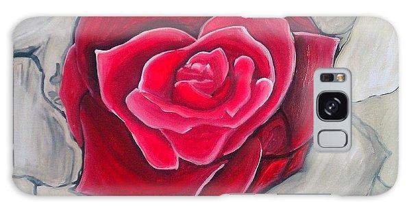 Concrete Rose Galaxy Case by Marisela Mungia