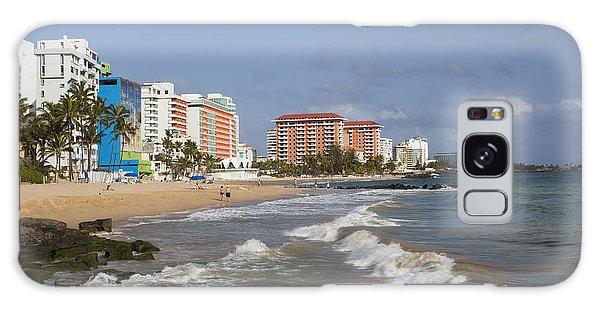Condado Beach San Juan Puerto Rico Galaxy Case