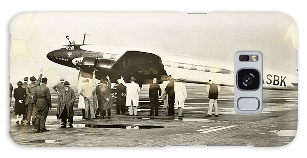 Condor Aircraft Before Take-off Galaxy Case by Eye On The Reich: German Propaganda Photographs/new York Public Library