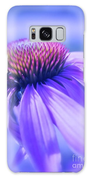Cone Flower In Pastels  Galaxy Case