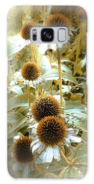 Cone Flowers Galaxy Case
