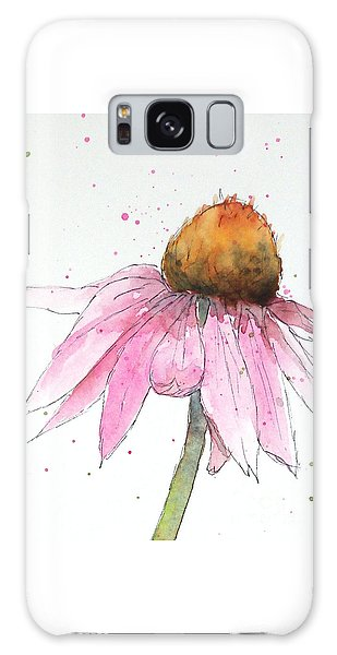 Coneflower 1 Galaxy Case