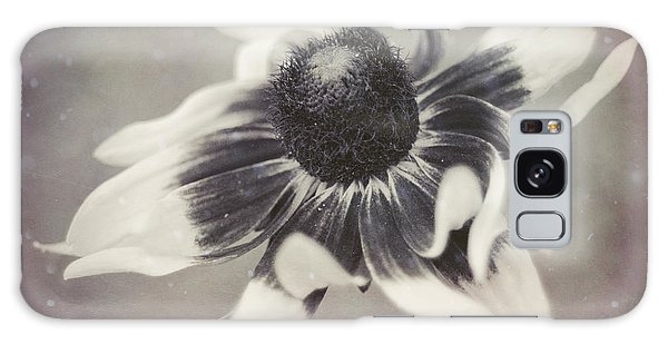 Coneflower In Monochrome Galaxy Case by Beverly Stapleton