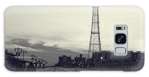 Coney Island Dusk Galaxy Case