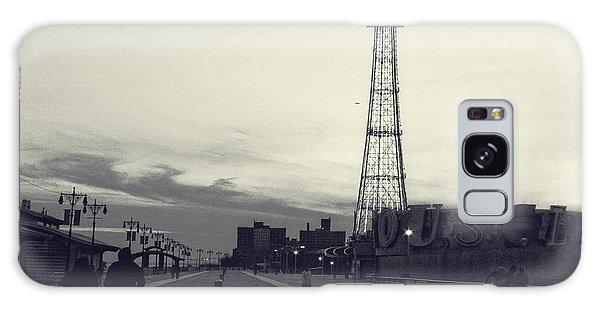 Coney Island Dusk Galaxy Case