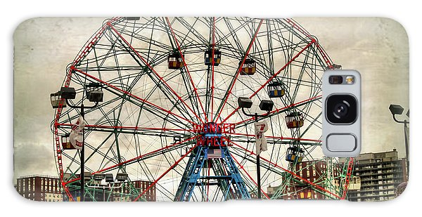 Coney Island Wonder Wheel  Galaxy Case