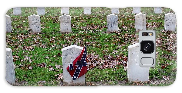 Confederate Flag Madison Wisconsin Cemetery Galaxy Case