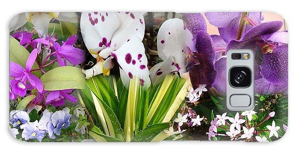 Confluent Flowers 1 Galaxy Case