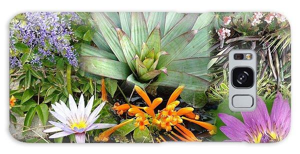 Confluent Flowers 5 Galaxy Case