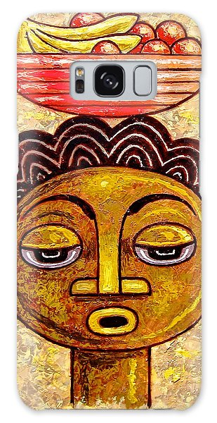 Congalese Face 1 Galaxy Case