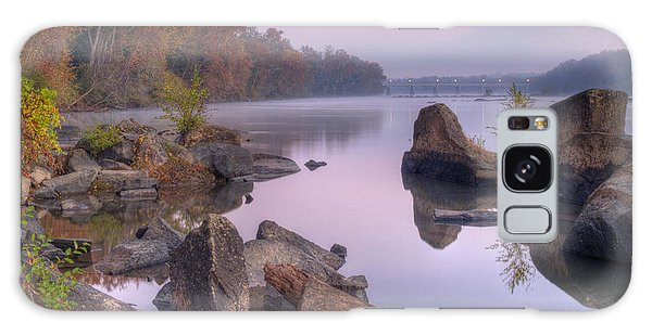 Congaree River At Dawn-1 Galaxy Case