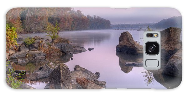 Congaree River At Dawn-1 Galaxy Case