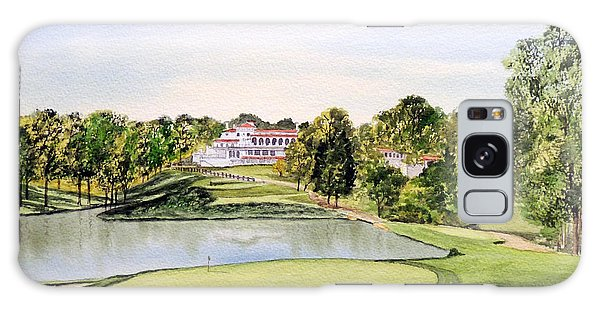 Congressional Golf Course 10th Hole Galaxy Case by Bill Holkham