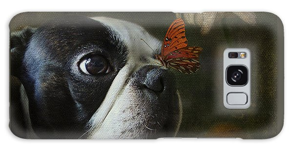 Constant Companion Galaxy Case by Kathleen Holley