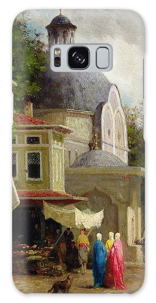 Place Of Worship Galaxy Case - Constantinople by Fabius Brest
