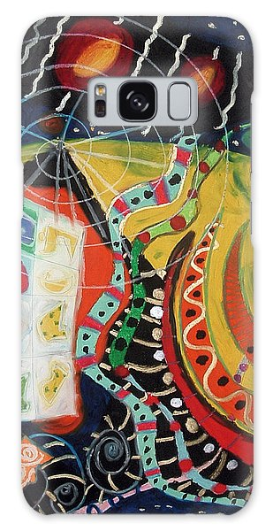 Constellational Signals Galaxy Case by Clarity Artists