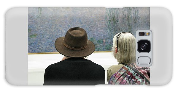 Contemplating Art Galaxy Case