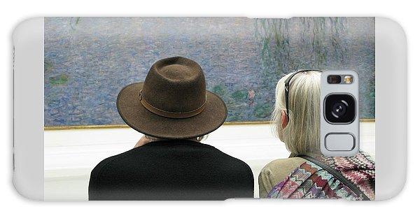Contemplating Art Galaxy Case by Ann Horn