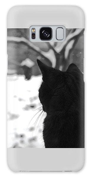 Contemplating Winter Galaxy Case
