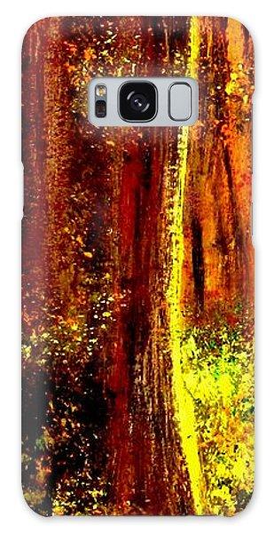 Contemplation.. Galaxy Case by Cristina Mihailescu