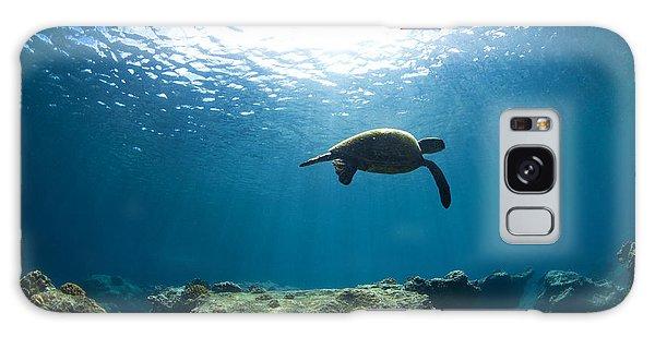 Turtle Galaxy Case - Contemplation by Sean Davey