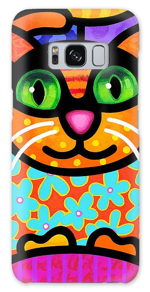 Contented Cat Galaxy Case