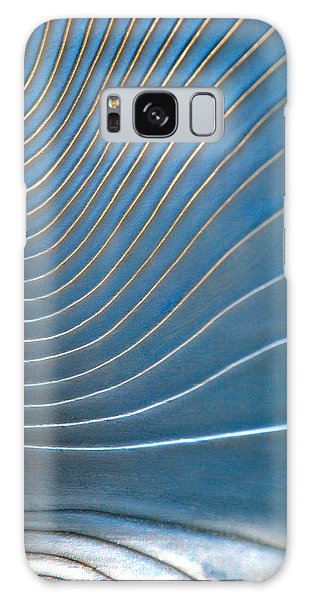Contours 1 Galaxy Case by Wendy Wilton