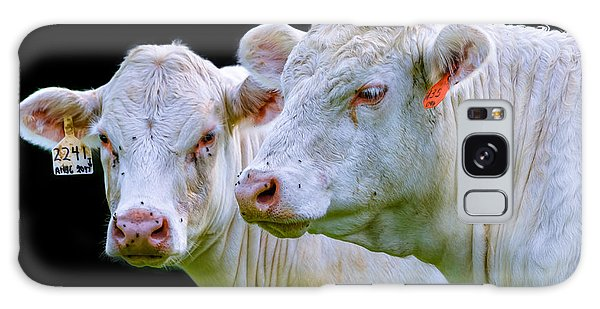 Contrast Cows Galaxy Case by Brian Stevens