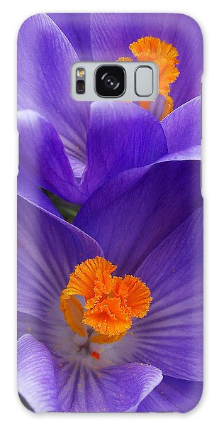 Contrasting Colors Galaxy Case by Kathi Mirto