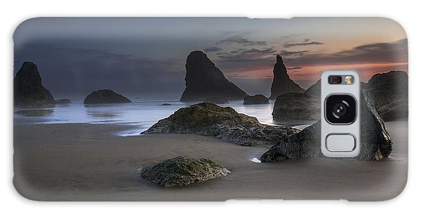 Contrasting Partners..... Bandon Oregon Galaxy Case by Tim Bryan