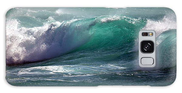 Converging Waves Galaxy Case by Lori Seaman