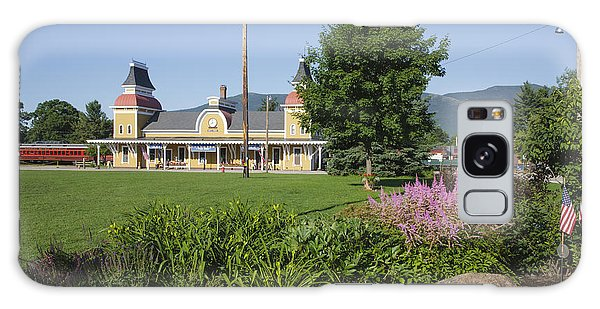 Conway Scenic Railroad - North Conway New Hampshire Usa Galaxy Case