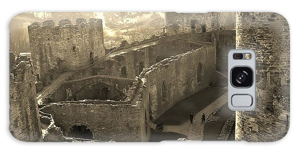 Conwy Castle Galaxy Case