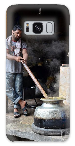 Cooking Breakfast Early Morning Lahore Pakistan Galaxy Case