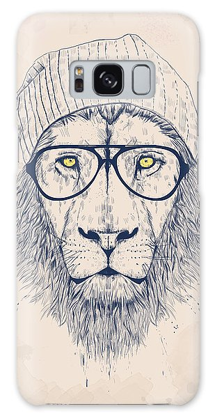 Animal Galaxy Case - Cool Lion by Balazs Solti