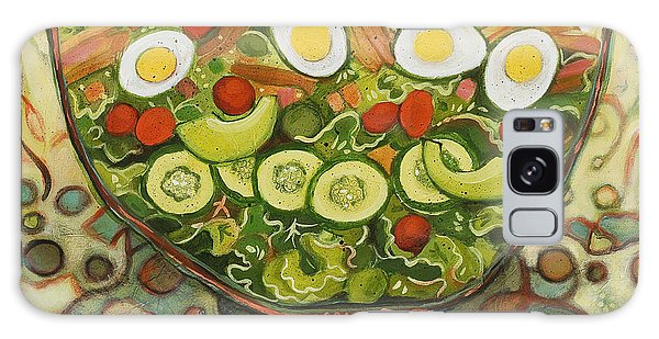 Cool Summer Salad Galaxy Case