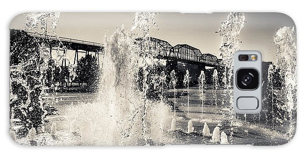 Coolidge Park Fountains Galaxy Case