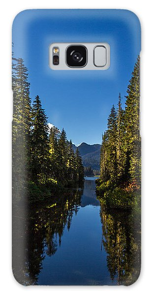 Cooper River Feeding Cooper Lake Galaxy Case by Rob Green