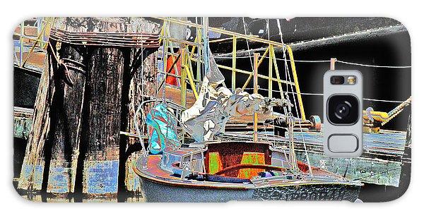 Coos Bay Harbor Galaxy Case