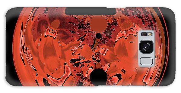 Copper Disk Abstract Galaxy Case